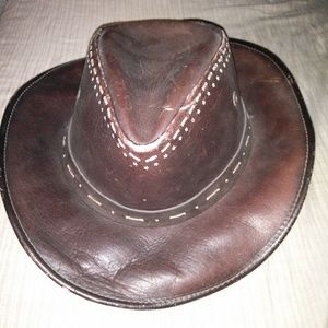kid leather cowboy hats